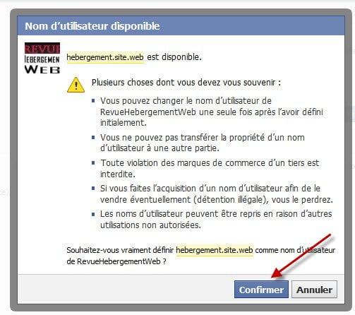 creation-page-facebook-entreprise-confirmation-nom-utilisateur