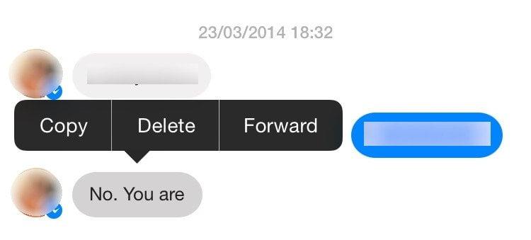Astuce 2 : effacer un seul message dans Facebook