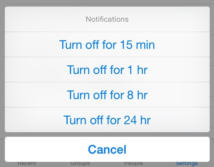 Astuce 1 : désactiver les notifications