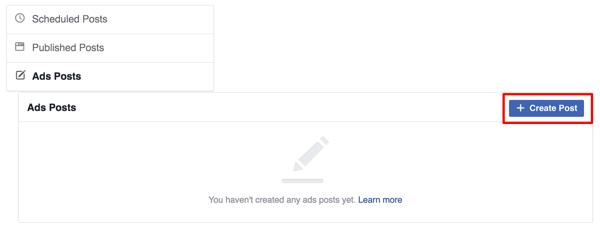 Création d'une page
