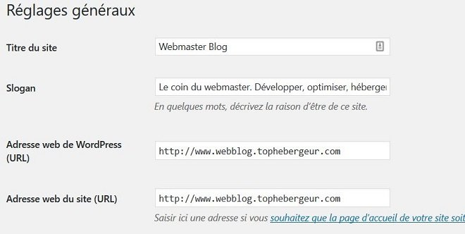 Changer le titre et le slogan de site WordPress 74309d04114