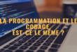 différence programamtion et codage