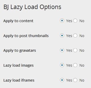 BJ Lazy Load permet d'activer le lazy load pour accélérer la vitesse du site