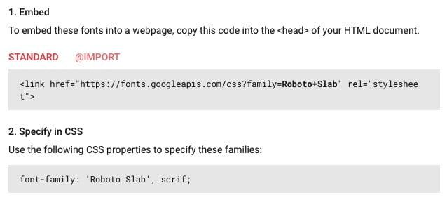 Google Fonts modifie les polices de votre site