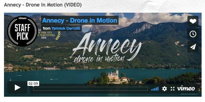 Ajouter des vidéos à partir de Vimeo pour accélérer la vitesse du site