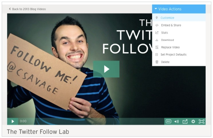 Utiliser Wistia pour ajouter des vidéos dans le site, pour accélérer sa vitesse